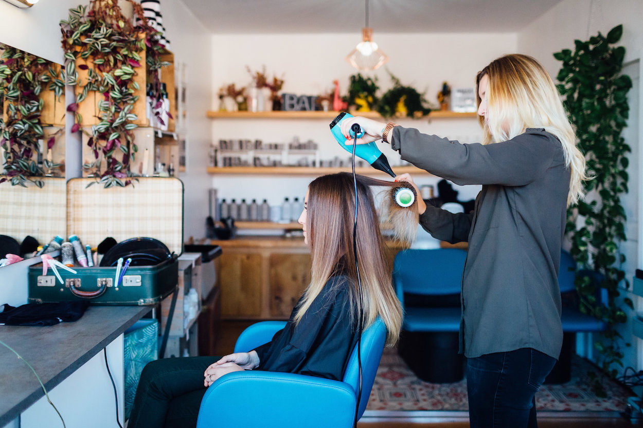 coiffeur toulouse brushing